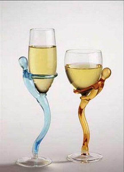 verre à vin original