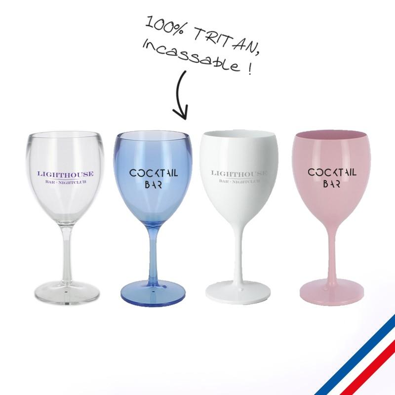 verre à vin publicitaire