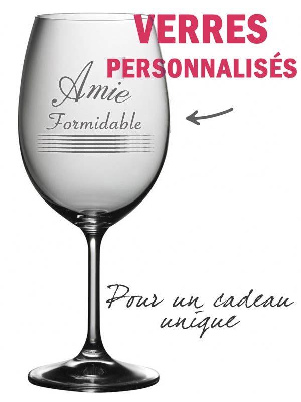 verre à vin personnalisé montreal