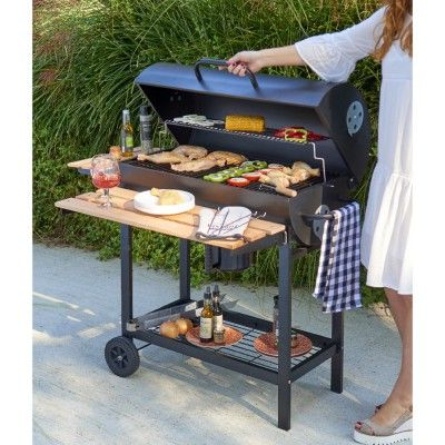 barbecue charbon kinley