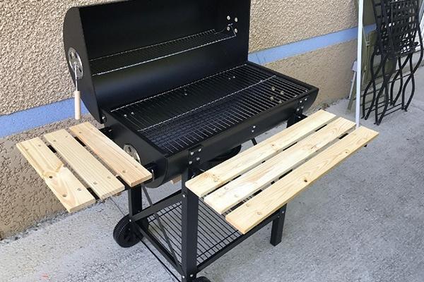 barbecue charbon haut