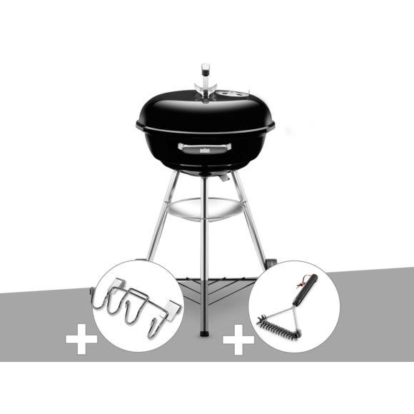 barbecue charbon compact kettletm ø 47 cm