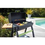 barbecue charbon plancha