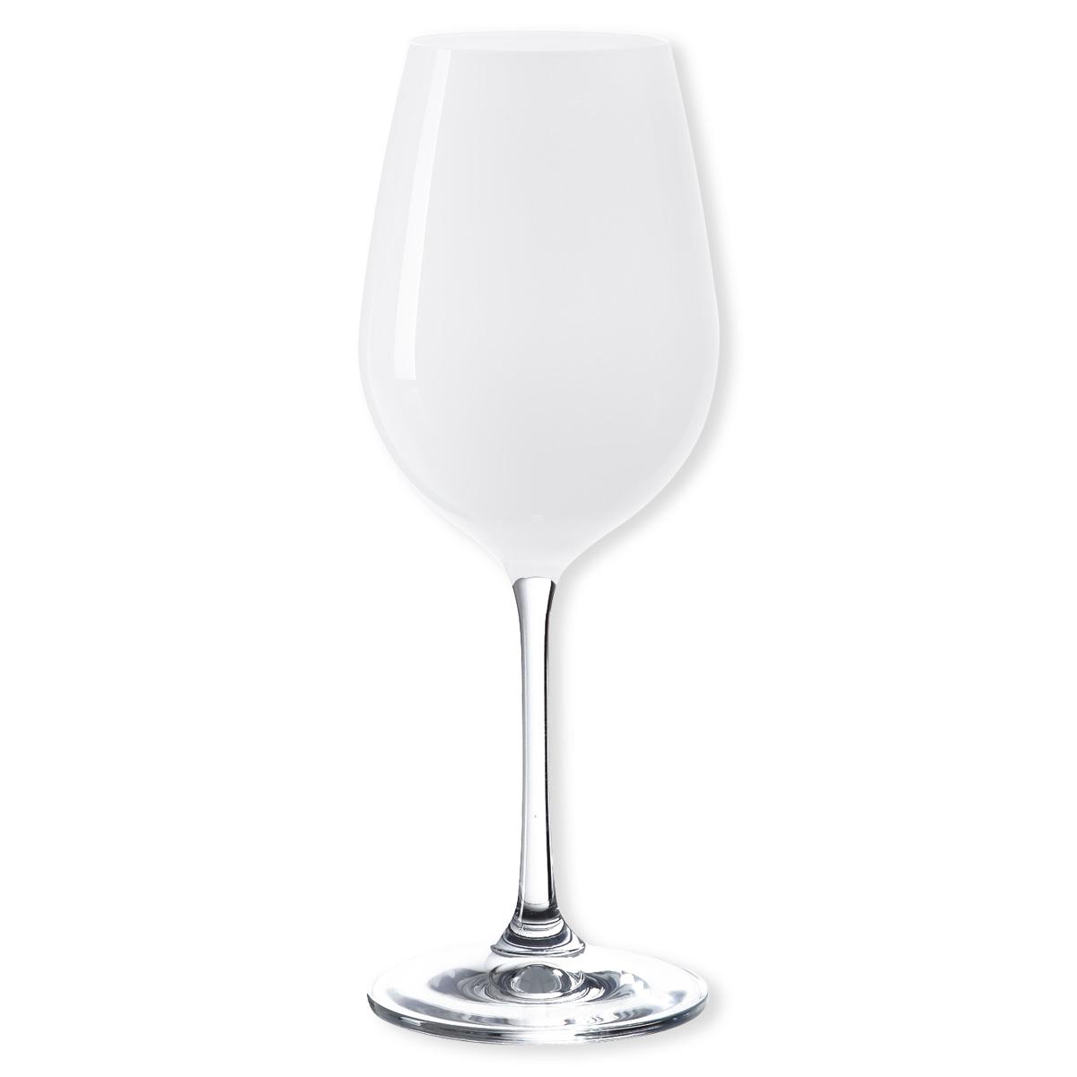 verre à vin couleur blanc