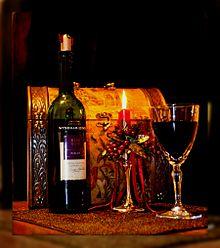 verre de vin rouge traduction italien