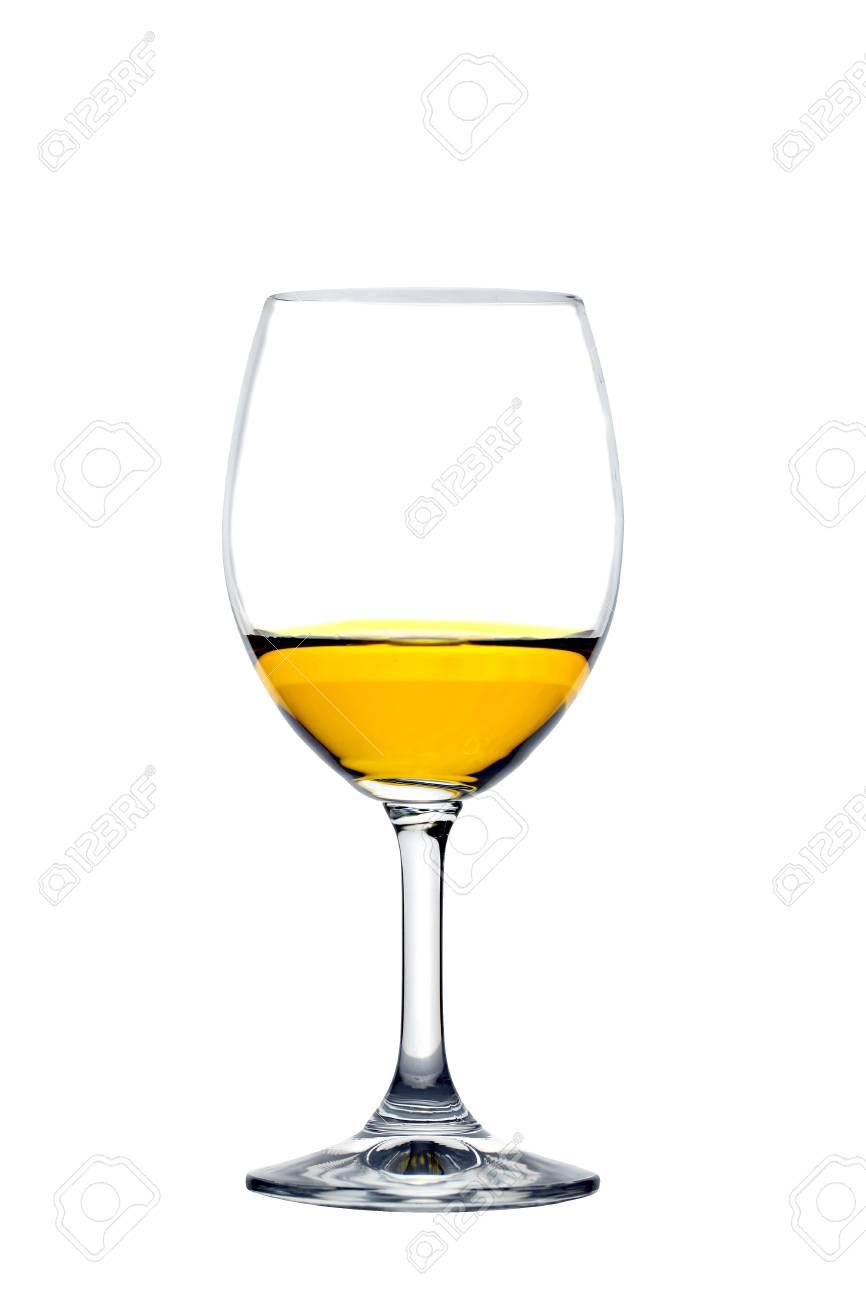verre à vin jaune
