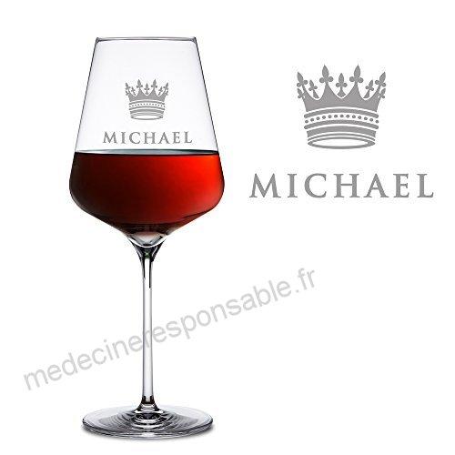 verre a vin rouge motif