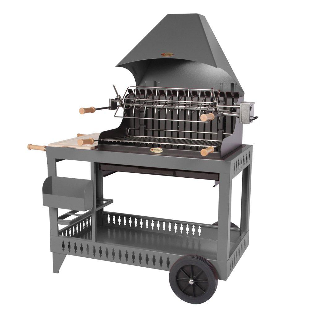 barbecue charbon gamm vert