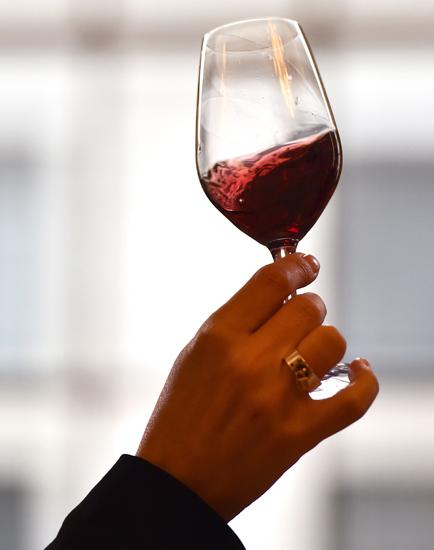 verre de vin rouge bienfait