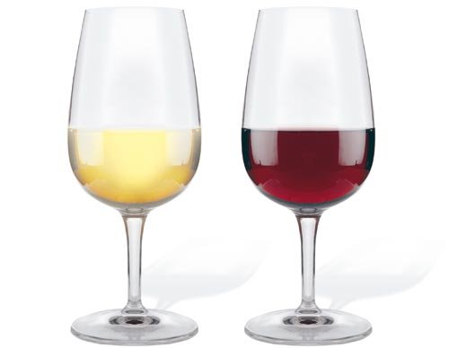 difference verre vin rouge et blanc