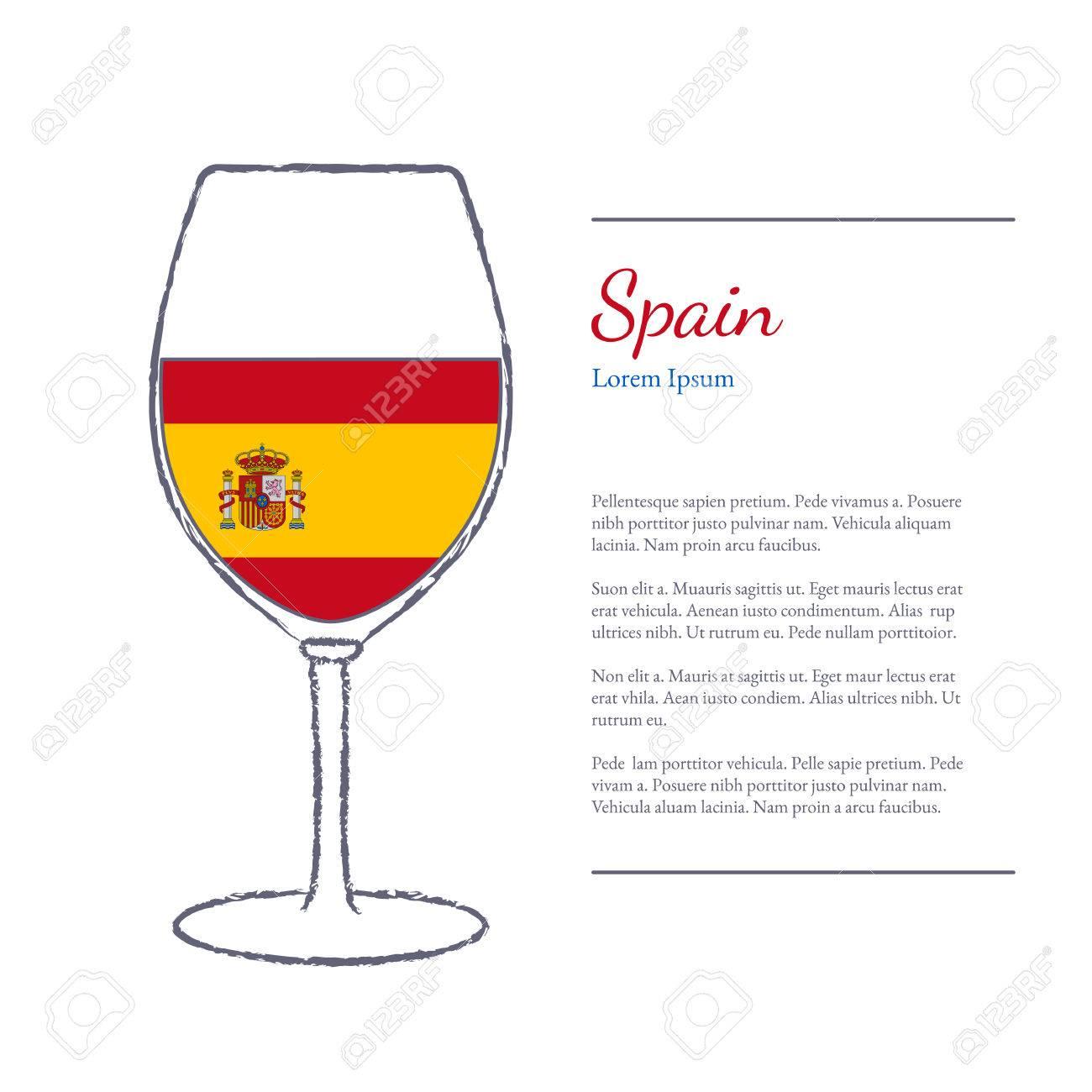 verre de vin blanc en espagnol