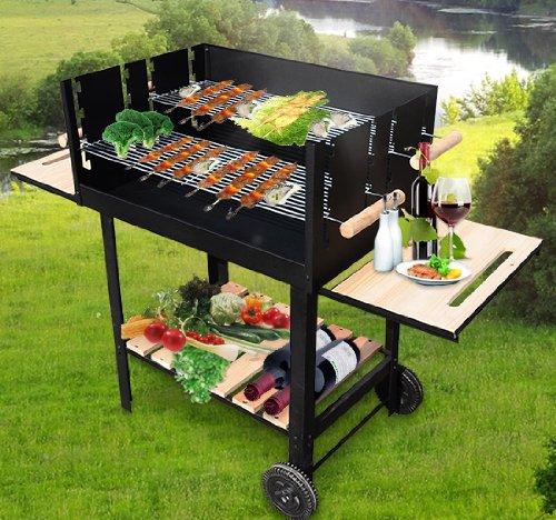 barbecue charbon jardin