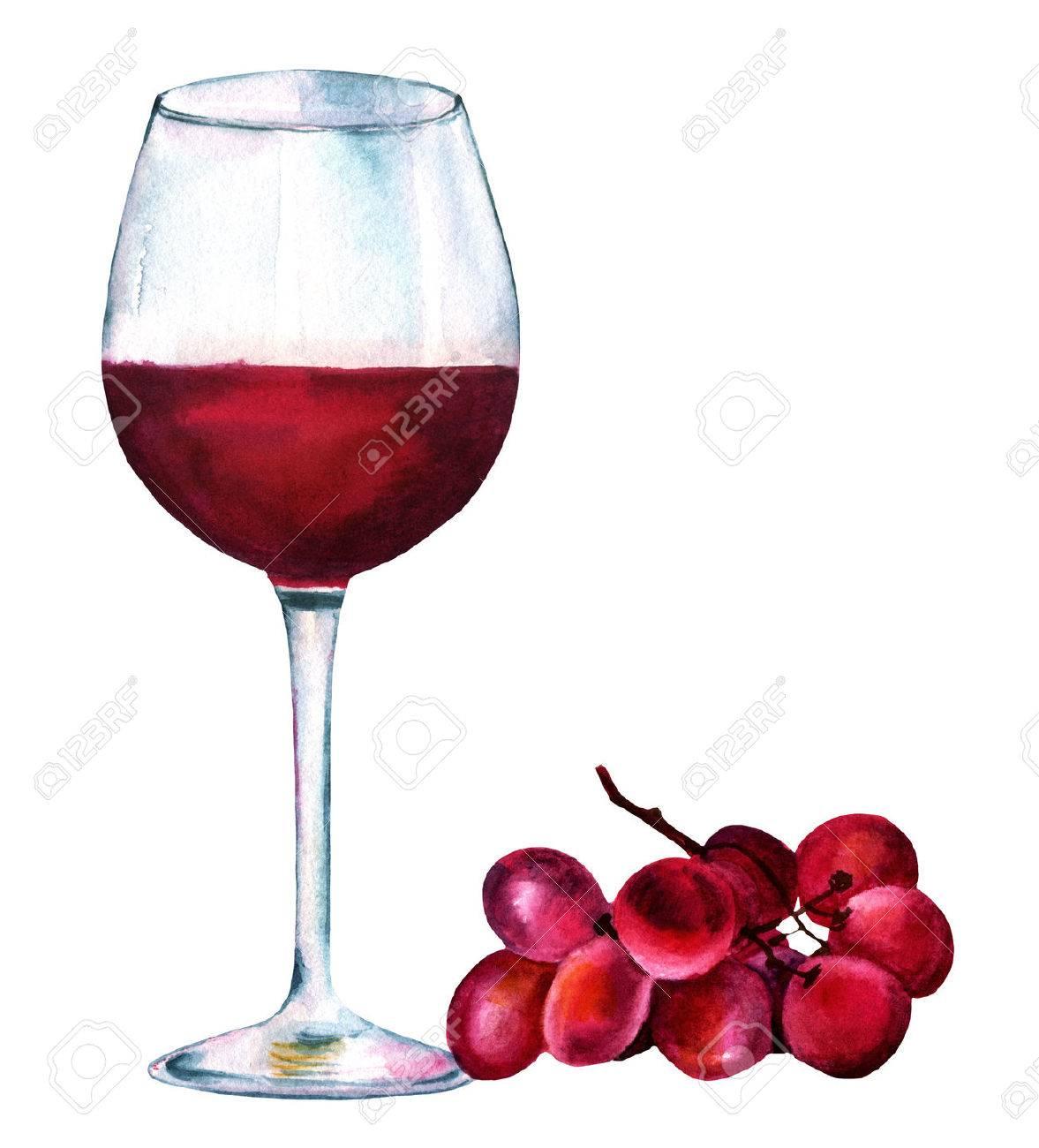 verre vin rouge dessin