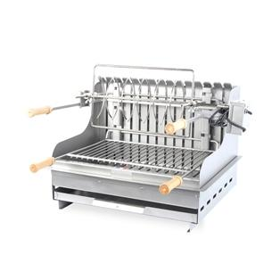barbecue charbon inox encastrable