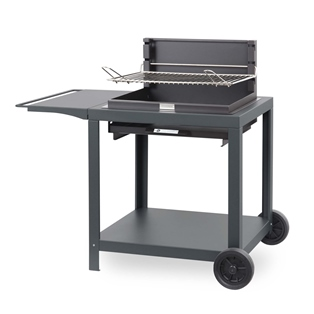 barbecue charbon grille reglable