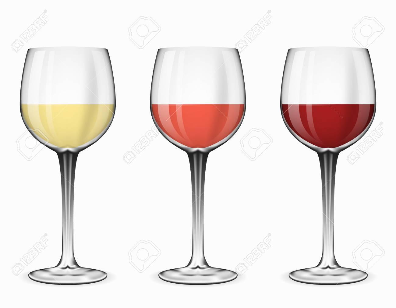 verre à vin blanc ou rouge