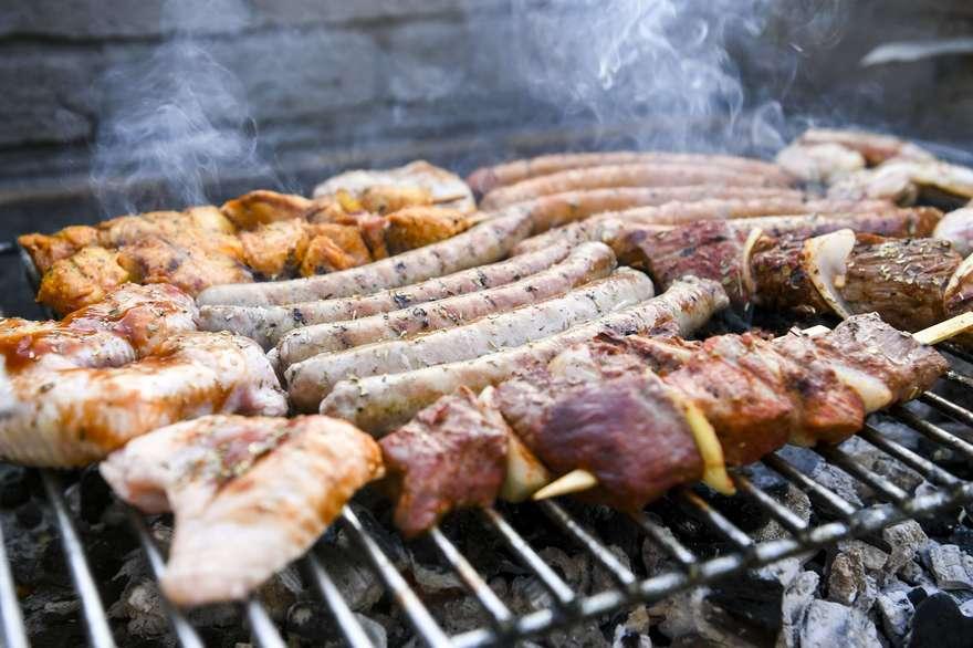 barbecue charbon sante