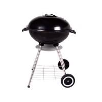 barbecue charbon joya 3 - dia.55 cm - noir laqué