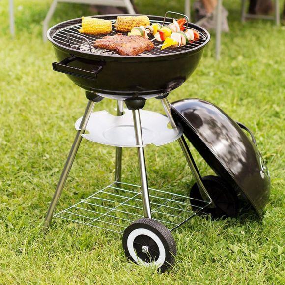 barbecue charbon maison