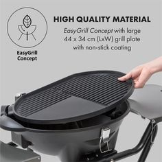 barbecue charbon master-touch tm gbs ø 57 cm