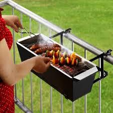 barbecue charbon en immeuble