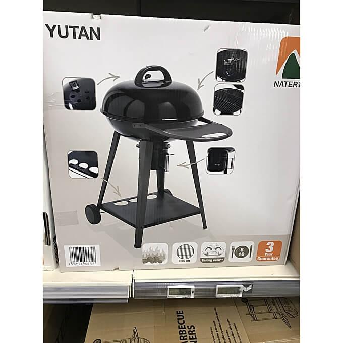 barbecue charbon naterial yutan