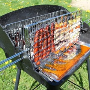 barbecue charbon horizontal vertical