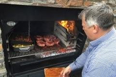 barbecue charbon et plancha gaz