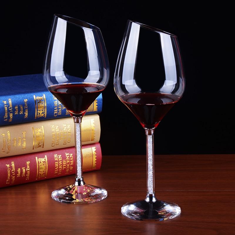 verre à vin biseau