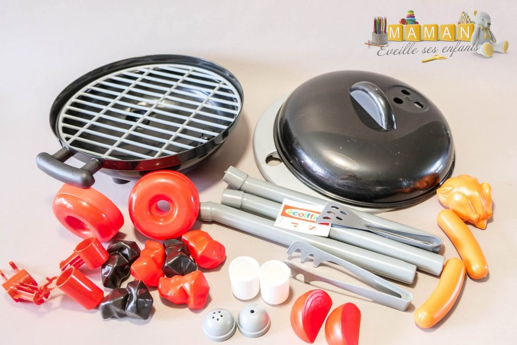 barbecue charbon ecoiffier