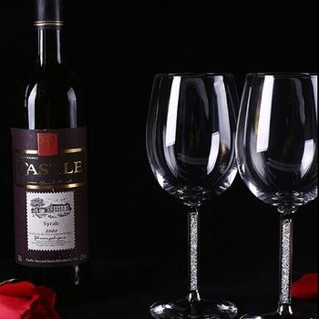 gros verre à vin rouge