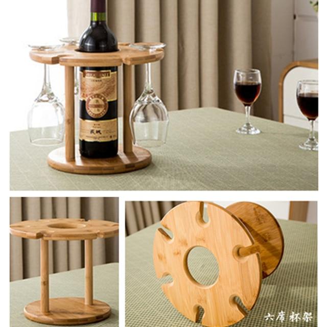 verre à vin en bois