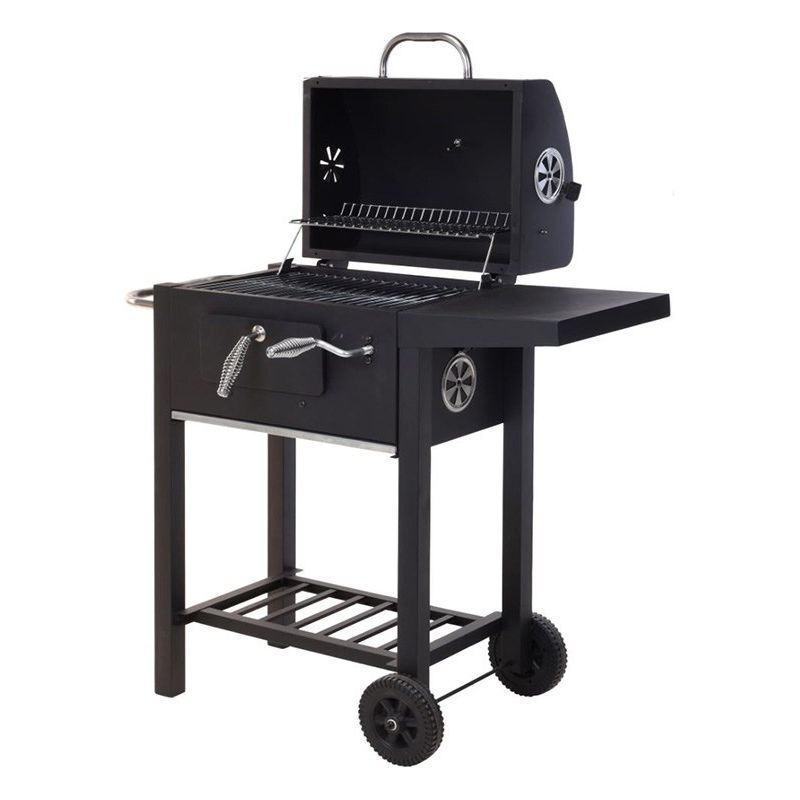 barbecue charbon enceinte