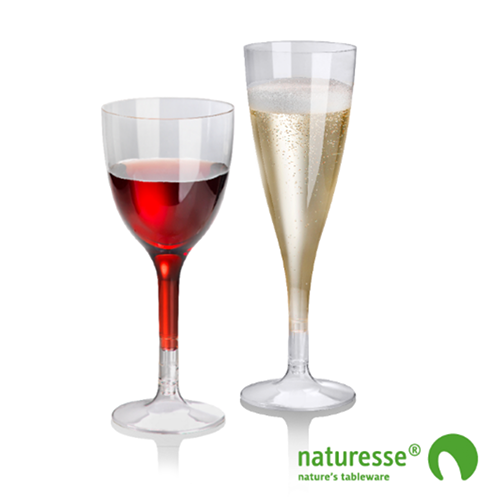 verre à vin biodégradable