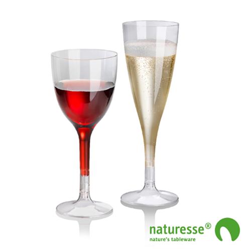 verre à vin compostable