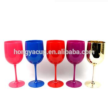 verre a vin rouge plastique