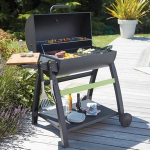 barbecue charbon solide