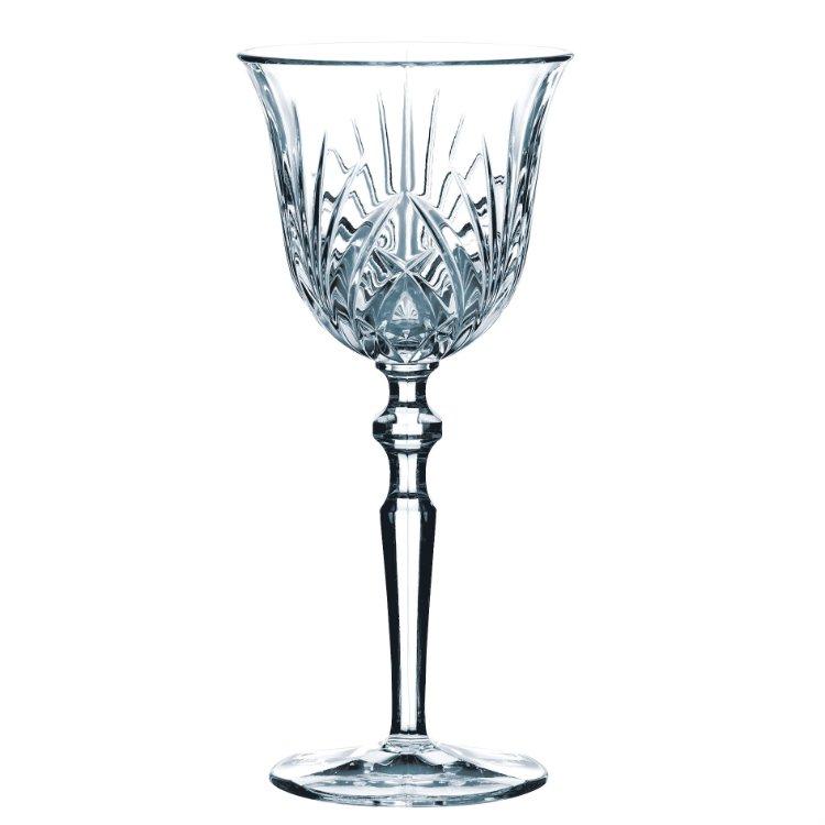 verre vin blanc cristal