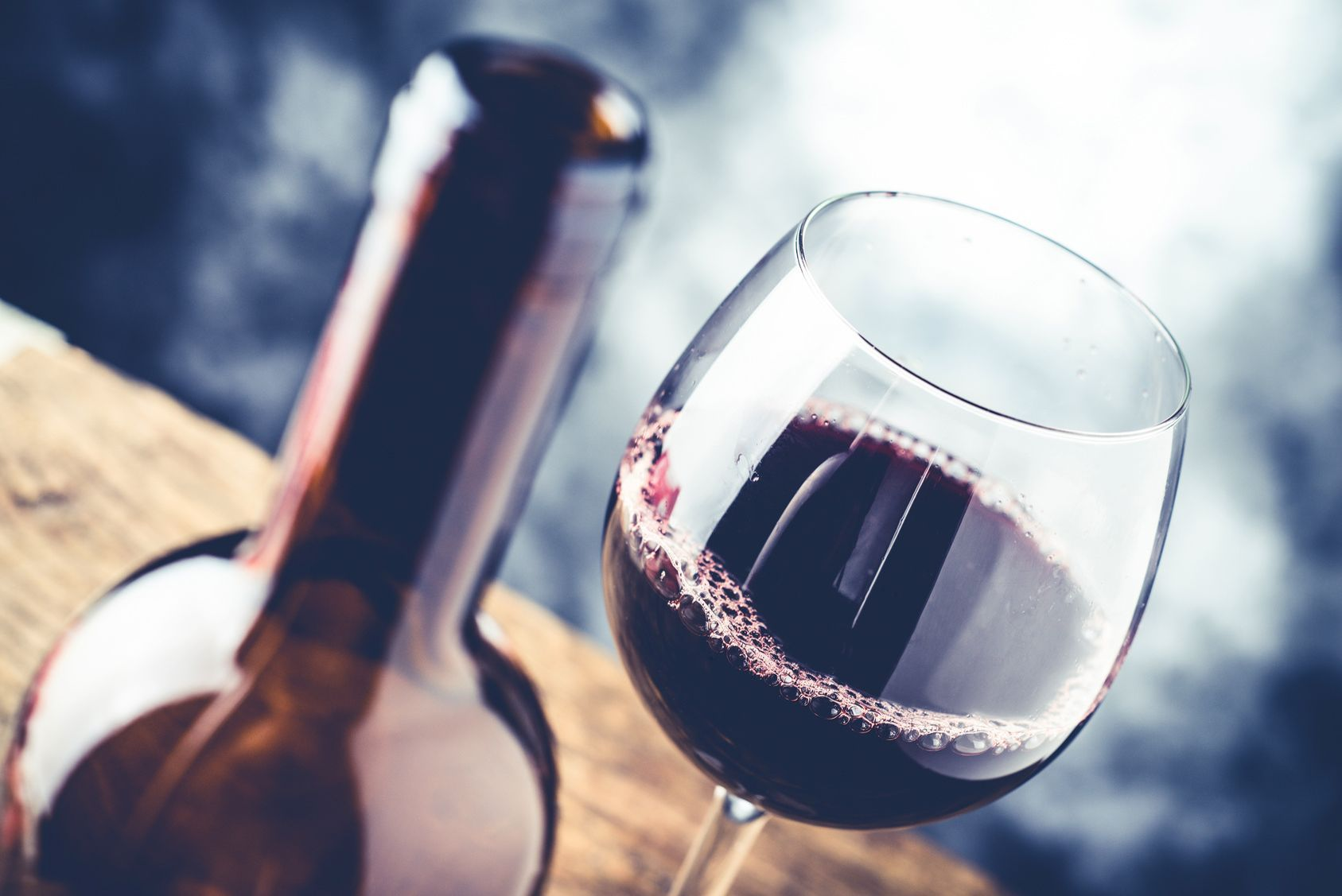 verre de vin rouge quotidien