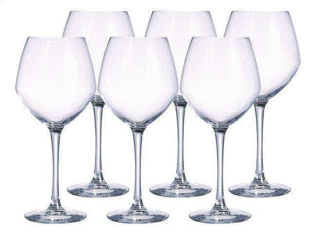 verre à vin rouge chef et sommelier
