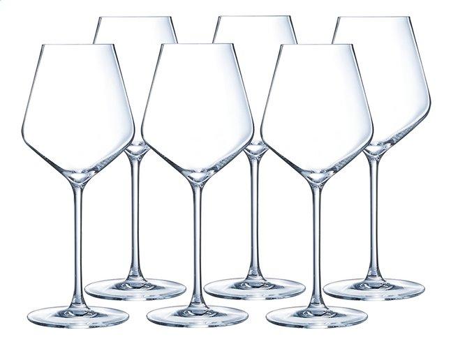 verre a vin blanc en cristal