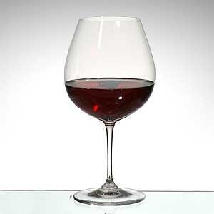 verre a vin rouge forme