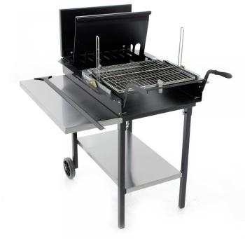 barbecue charbon grille tournante