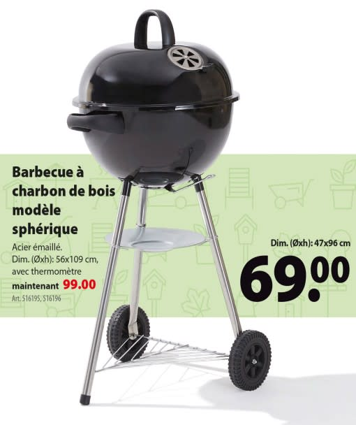 barbecue charbon de bois quigg