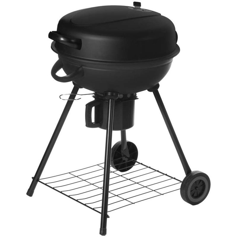 barbecue charbon rond couvercle