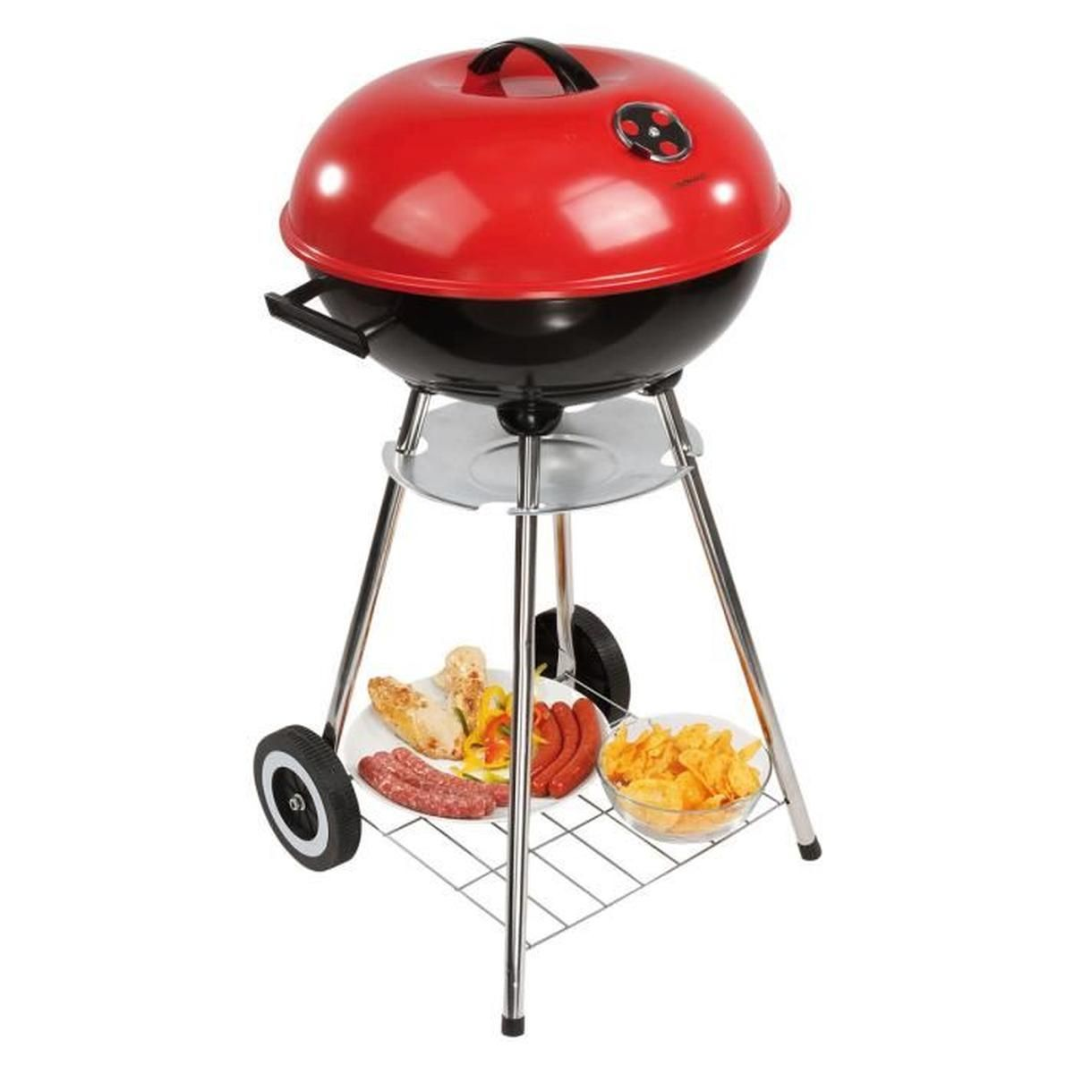 barbecue charbon rouge