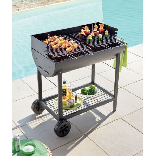 barbecue charbon hesperide