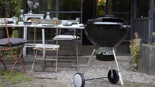 barbecue charbon residence
