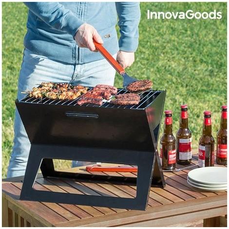 barbecue charbon pliable