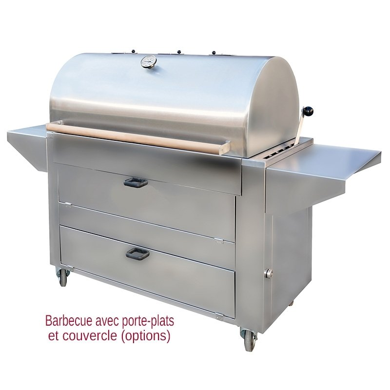 barbecue charbon professionnel